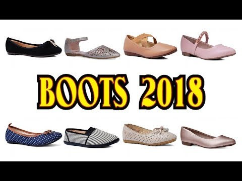 footwear trends 2018 For winter: winter boots 2018