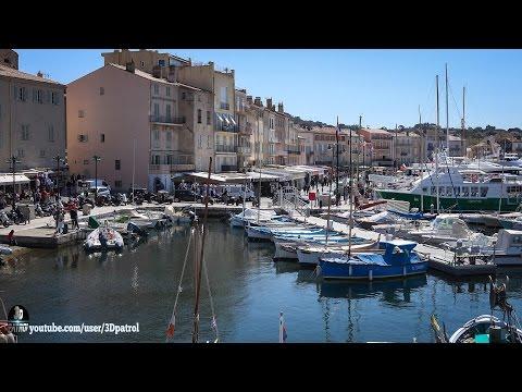 (4k) Saint-Tropez, France