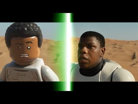 Thumbnail: LEGO Star Wars: The Force Awakens Trailer Comparison
