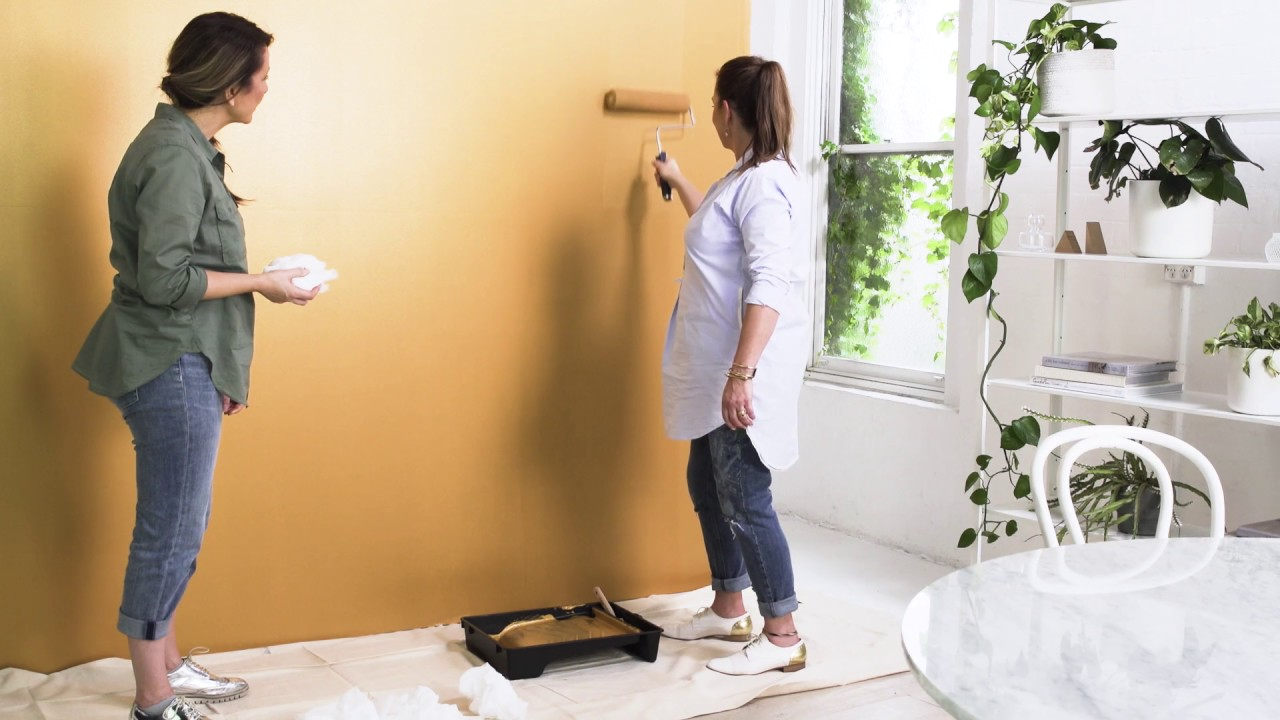 How To Use Dulux Design Gold Amp Stainless Steel Effect