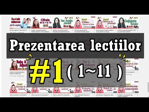 Cum vorbim corect in limba coreeana 01 from YouTube · Duration:  17 minutes 31 seconds