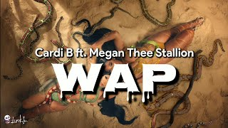 Cardi b ft. megan thee stallion - wap (lyrics video terjemahan)