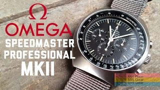 "Review: Omega Speedmaster Professional Mark II Vintage Ref. ST 145.014 ""Moonwatch MKII, Almost"""