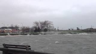 Hurricane Sandy Sag Harbor Bridge 2012 HD 1