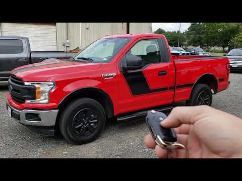 2018 Ford F150 remote start