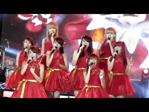 Cherrybelle - Pantang Mundur @ Simfoni untuk Bangsa RCTI - Surabaya 161113
