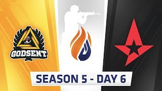 ECS Season 5  Day 6 - Astralis vs Godsent, EnVyUs vs Godsent // eUnited vs Luminosity thumbnail
