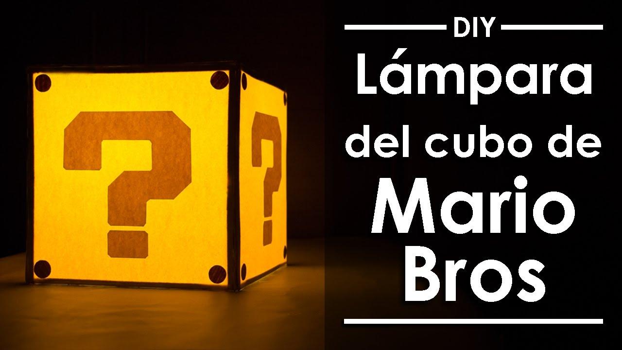 Mario Lámpara del de Bros Eduardo cubo lFKT13cuJ