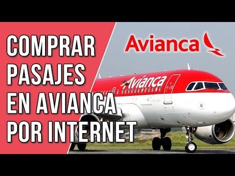 Como Comprar Pasajes En Avianca Por Internet