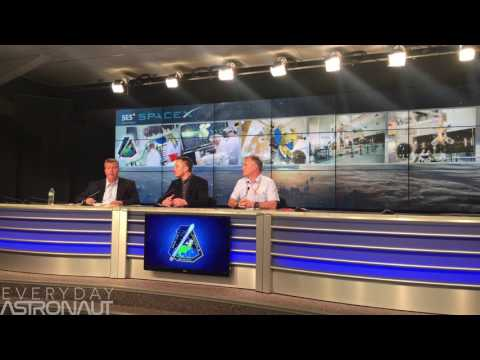 SpaceX SES 10 Press Confrence Full 4k Horizontal