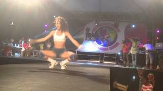 International Dancehall Queen 2015 Round 1 Monkey Jo DHQ Johanna ENOUGH