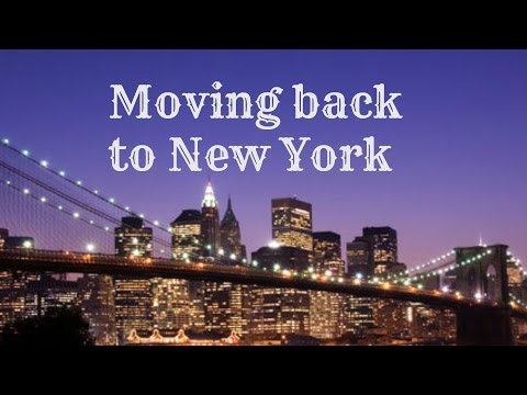 Moving back to new york youtube for Moving from new york