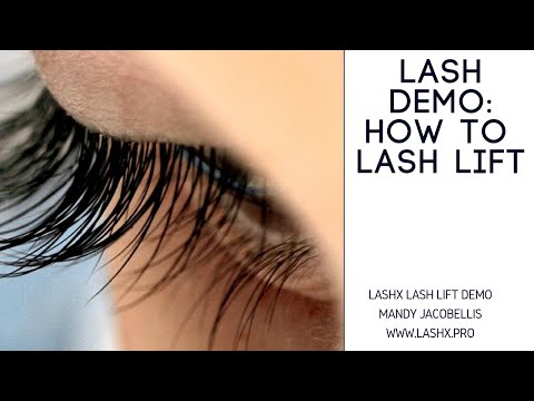 Learn How To Do a Lash Lift - Step-By-Step Instructions With