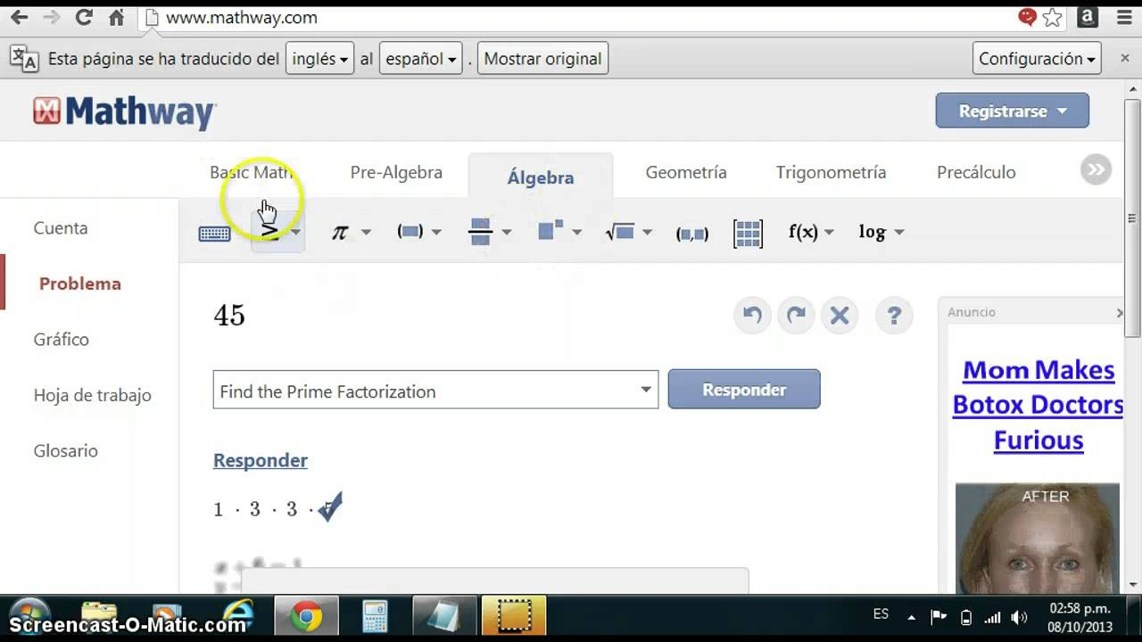 TUTORIAL DE MATHWAY on