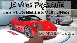 LES PLUS BELLES VOITURES DU MONDIAL !!! | PARIS MOTOR SHOW 2018