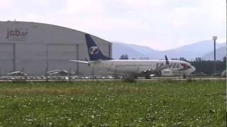 Civil traffic at airport Ostrava Mosnov during NATO Days