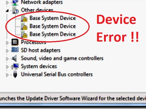 how to fix missing or corrupted driver on computer (device error)