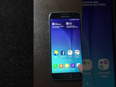 Unlocked Us Cellular Galaxy S6 On Verizon