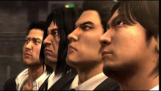 Yakuza 4 - All Bosses with Cutscenes and Ending
