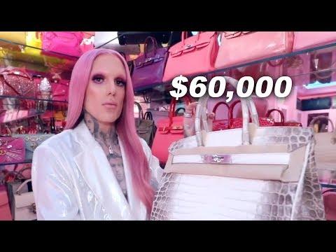 jeffree star loses his $60,000 bag thumbnail