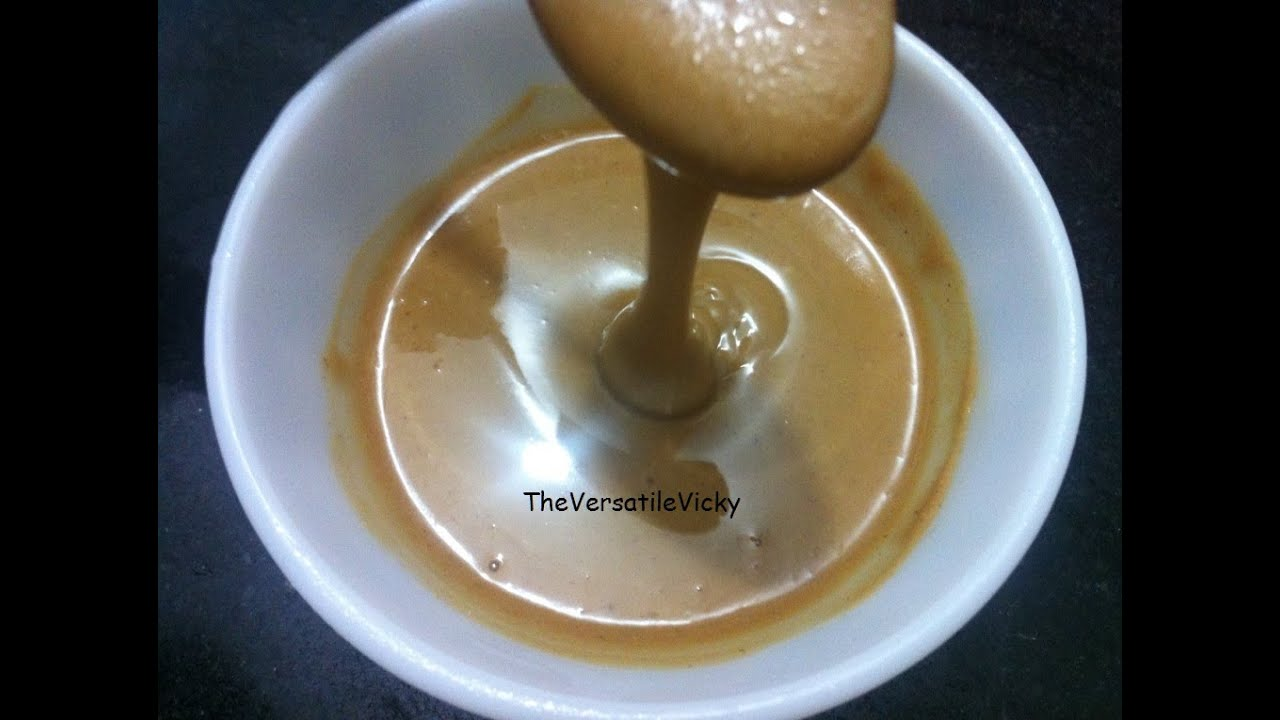 How To Make Home Made Peanut Butter Recipe Youtube