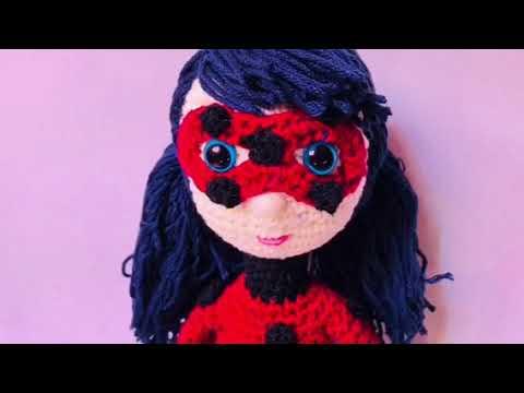 Tikki miraculous ladybug amigurumi by Miidita | Ladybug crafts ... | 360x480