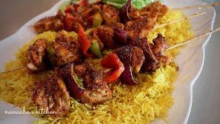 Oven Grilled  CHICKEN KABOBS - Nanaaba&#39s Kitchen