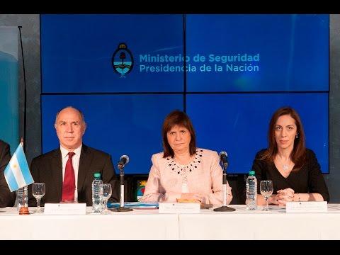 Lorenzetti expuso en la Reunión Nacional del Consejo de Seguridad Interior