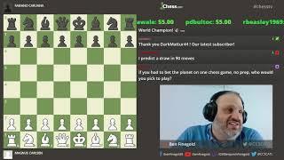 Caruana - Carlsen : World Chess Championship : Game 4