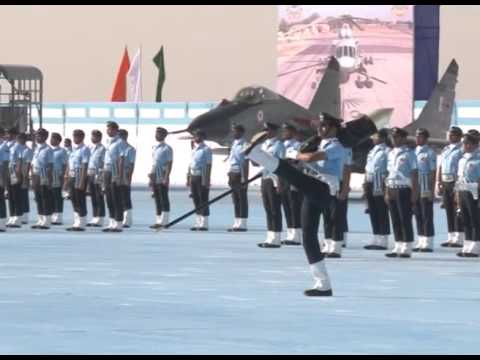 President's visit to Air Force Station Jamnagar in Gujarat