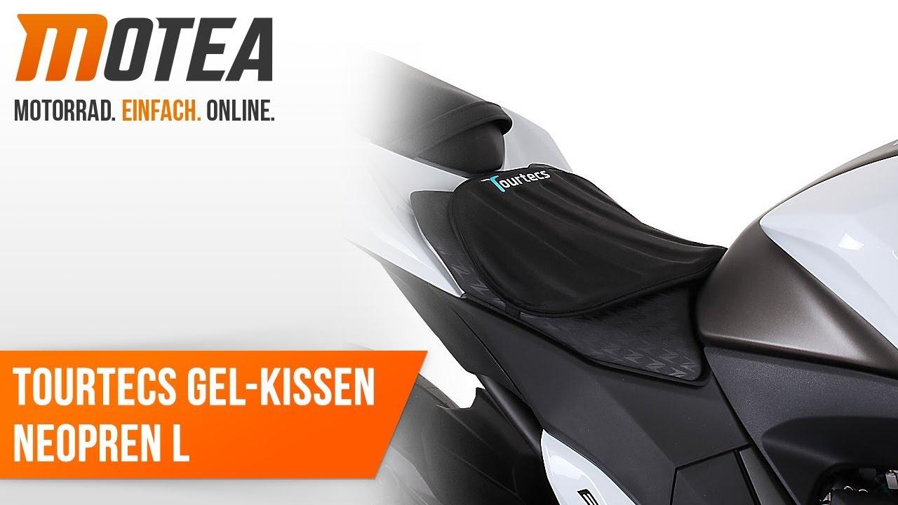 Motorrad Sitzauflage Honda CB 750 Seven Fifty Schwarz Neopren L Gelkissen Gel Pad Sitzbank Tourtecs