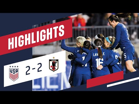 WNT vs. Japan: Highlights - Feb. 27, 2019