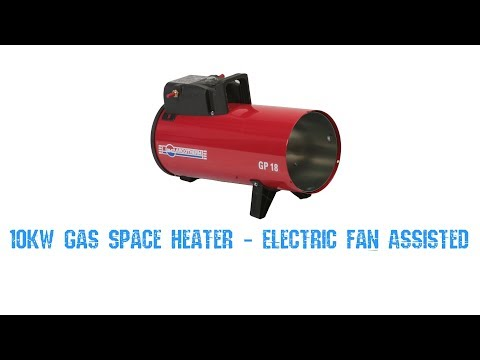 10kW Gas Space Heater - Electric Fan Assisted