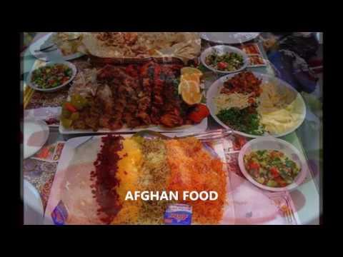 غذاهای افغانی. Afghans foods