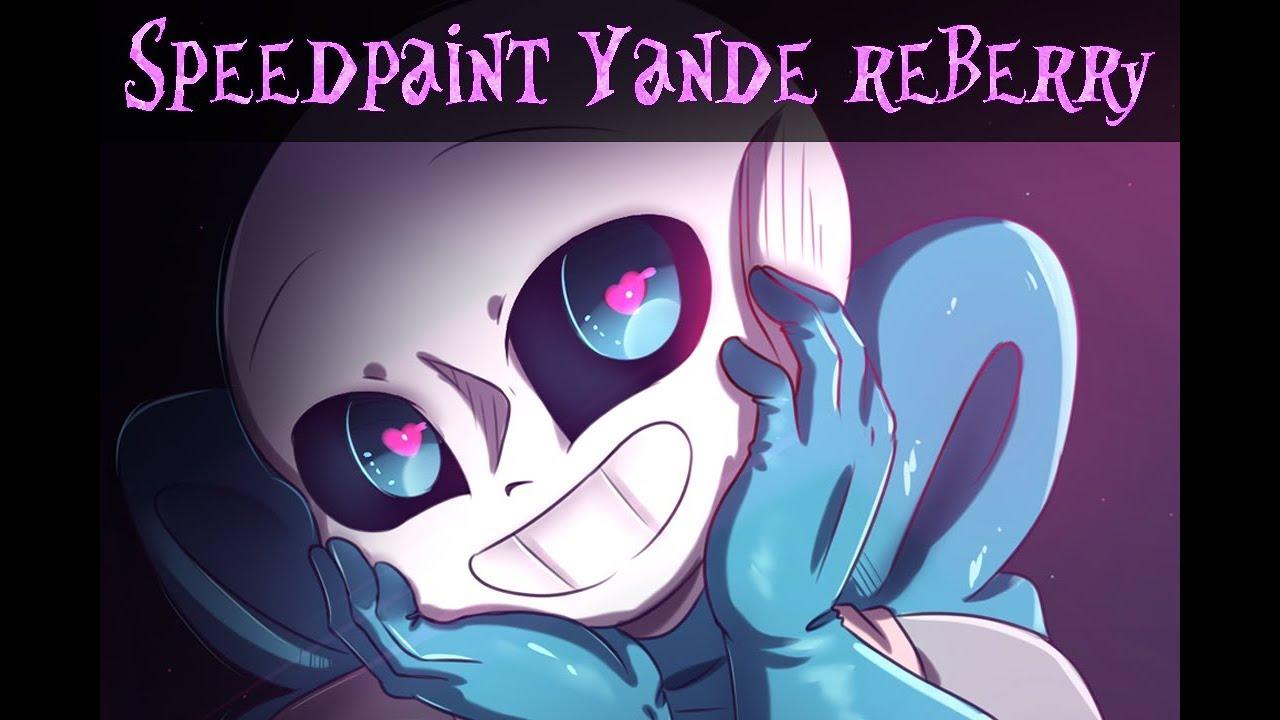 Speedpaint - Undertale AU -Yandere Berry