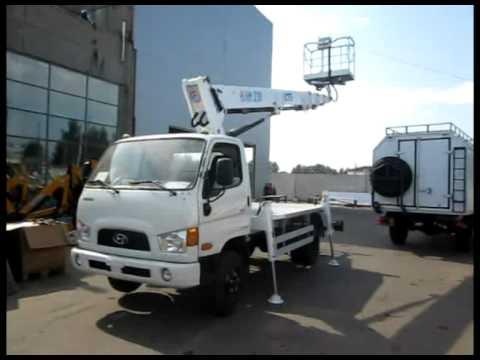 Автовышка АПТ-22 (autel 230) - Hyundai HD-65