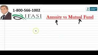 Annuity vs Mutual Fund - Mutual Funds vs Annuities Explained