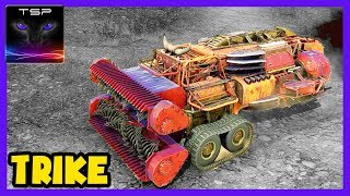 Crossout #289 ► Trike The Harvester Build + Coop Gameplay