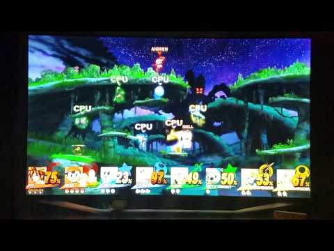 Super Smash Bros Wii U with my Brother Part 2