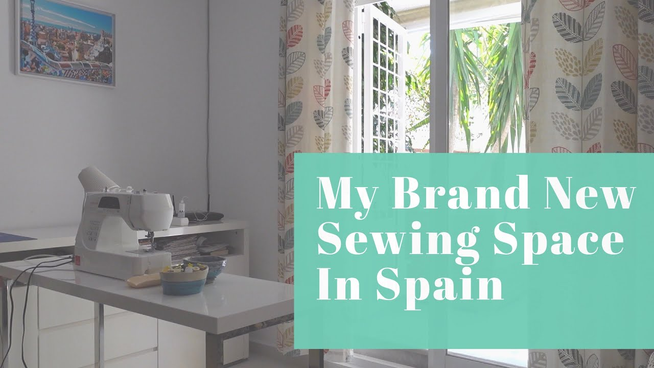 New Apartment and Sewing Space in Spain