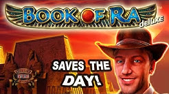 HUGE WIN on Book of Ra Slot - £4 Bet!