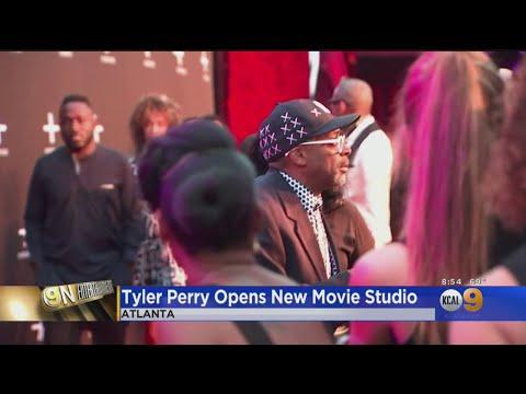 Eye On Entertainment: Tyler Perry Opens Film Studios In Atlanta