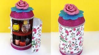 Easy Plastic Bottle Craft- Best out of waste craft Idea,बहुत आसानी से ये सुंदर organizer बनाना सीखे