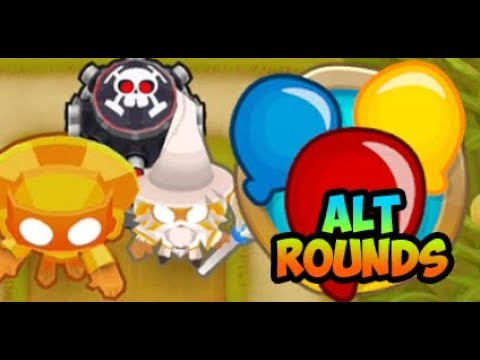 Bloons TD 6 - Alternate Bloon Rounds - CORNFIELD