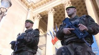"10,000 soldiers, police guard ""sensitive sites"" in France"