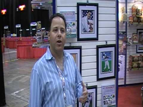 AT THE NATIONAL: TRISTAR's Jeff Rosenberg discusses his company's baseball products