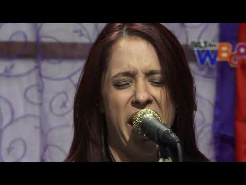 "Danielle Nicoleperforming ""Cry No More"" on the Blues Break"