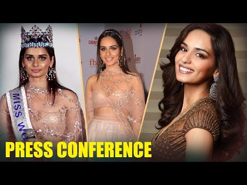 Pc Regarding Manushi Chhillar Beauty With A Purpose Tour | Press Conference | Part 1