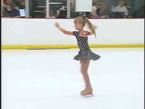 Megan (age 6) Competing in the 2012 California Figure Skating Championships
