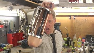 Ballistic Knife/Taser Weaponised arm Gauntlet Deus Ex: Mankind Divided Style Making of Part 2
